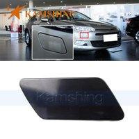 Car Washer Kamshing For C5 2009 2010 2011 2012 Front Bumper Headlight Water Spray Nozzle Cover Head Lamp Cleaning Cap