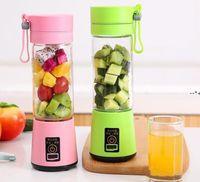 380ml Personal Blender Portable Mini Blender USB Juicer Cup Electric Juicer Bottle Fruit Vegetable Tools HHF10239