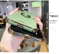 fashion Ring buckle bracket function Phone Cover Case For iphone 13 X 11 pro Xs Max Xr 10 8 7 Plus se 4.7 Luxury Soft Coque Fundas