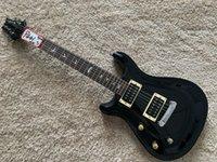 Left hand electric guitar with maple veneer mini Grover knob pro grade