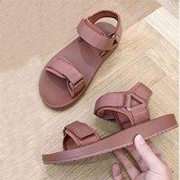 Bonjean Luxo Sapatos de Lona Deserta Slipper Marca Verão Sandália Casual Sandália Sandália Casual Flow Flops 210402