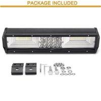Autoscheinwerfer Quad Row 12inch 840W 68LED Arbeitslicht Bar Spot Flood Combo Treiber Lampen Wasserdichte LED für SUV OFFROAD Fahrzeug
