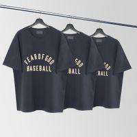 Sis tanrı sezon 7 ana çizgi beyzbol akın baskı erkek ve kadın yüksek sokak kısa kollu tişört