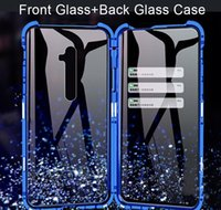 Cell Cases 360 Doublesides Tempered Glass Phone For Oppo A5 A9 Reno Z 2 2Z 3 Pro Case Shockproof Matel Bumper Protective Cover D9Tyt K5Nm4