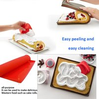 1pc Non-stick Baking Mat Cake Pad Roll Kitchen Accessories Bakeware Tools Silicone Oven Tool Rolling Pins & Pastry Boards