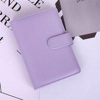 Estados Unidos A6 A6 impermeável Macarons Pasta Ledger Mão Notebook Shell Solto-folha Bloco de Notas Diário Diário Capa Escola Escola Suprimentos 649 R2