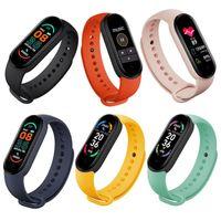 Erkekler ve Kadınlar için Akıllı Saatler Band Kalp Hızı Kan Basıncı Uyku Monitörü Pedometre Saatı