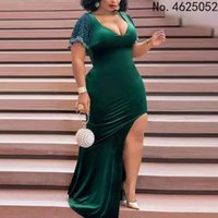 Ethnic Clothing African Dress For Woman Africa Maxi Dresses Women Muslim Long 2021 Fashion Soft Shining
