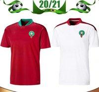 Men's Tees & Polos 2020 European Morocco soccer jerseys 20 21 Maillot de foot ZIYECH BOUTAIB Camiseta futbol BOUSSOUFA EL AHMADI football shirt sleeve T Shirt