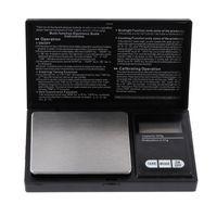 Joyería de oro de la escala de bolsillo digital Mini Mini acero inoxidable Gram Balance de peso escala de peso Portátil Escala de bolsillo