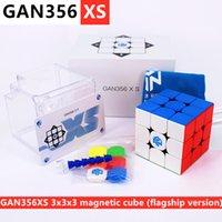 Gan356xs 3x3x3 المغناطيسي ماجيك مكعب gan356 xs المغناطيسي 3x3 سرعة لغز مكعب gans 3x3x3 مكعب gan356x s cubo magico gan 356