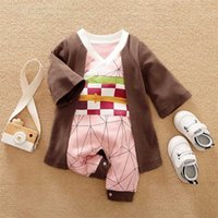 Dragon DBZ Anime Baby Clothes Full born Girl Boy Outfit Cosplay Overalls Halloween Costume Jumpsuit Infant Rompers 211023