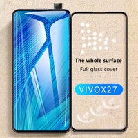 Suitable for VIVO X27 Two Strong Screen Printing Full-screen Tempered Film 9D Curved Iqoo Mobile Phone High-definition Glass Protective Film