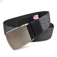 Belts Luxury Alloy Buckle Invisible Money Belt Ladies Embroidered Outdoor Fashion Sports Travel Safe Wallet Nylon