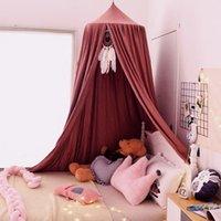 سرير المعاوضة الطفل المظلة البعوض غرفة الأطفال الديكور خيمة hung قبة صافي الدعائم