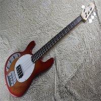Calidad de la mejor calidad 4 cuerdas Tome la iniciativa para recoger música Hombre Stingray Ernie Ball Guitarra eléctrica
