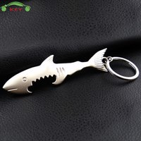 Keychain della macchina del metallo della macchina del metallo di pesce di squalo creativo per la catena chiave del motociclo per Audi Nissan Dodge Toyota BMW Mercedes Yamaha Voo Portachiavi
