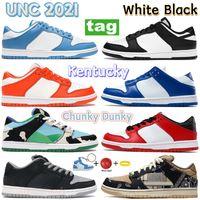 2021 Dunk UNC Erkekler Koşu Ayakkabıları Sahil Tıknaz Dunky Beyaz Siyah Sp Syracuse Üniversitesi Kırmızı Kentucky Sneakers Gölge Chicago Kadınlar Eğitmenler