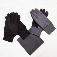 العلامة التجارية تصميم قفاز للرجال الشتاء الدافئ خمسة أصابع الرجال قفازات للماء في الهواء الطلق جودة عالية
