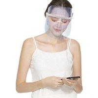 المحمولة 3 ألوان أدى ضوء العلاج أقنعة الوجه مكافحة الشيخوخة حب الشباب إزالة التجاعيد الجلد تشديد الجمال سبا العلاج