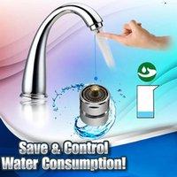 Otros grifos, duchas ACCS Faucet Aireador Aireador Adaptador de boquilla Puede ajustar la actividad de ahorro de agua de rotación 360 Rosca de control de un botón