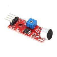 Capteurs de débit KY-037 4pin Voix de détection de son Voix Module Module Microphone Transmetteur Smart Robot Voiture pour l'outil électronique DIY