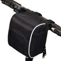 Cycling Bags Bike Handlebar Bag Front Top Tube Pouch Bicycle Tool Pannier Handbag Shoulder Accessories
