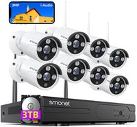 SMONET 3MP Wireless Security Camera Kits System, 8 Canais Home Video Surveilance NVR