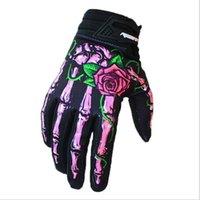 Gants de course de Motgpamx, respirant, résistant à l'usure, résistant à l'usure, à écran tactile des gants de moto hors route