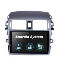 9 polegadas Android 10 Carro DVD GPS Rádio para Toyota Old Corolla 2007-2010 GPS Multimedia Player Suporte Carplay DVR Retrovisor Camera