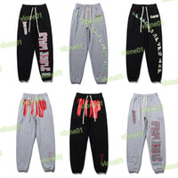 Mens Designer Track Pants Casual Men Women Black Gray Joggers Pant Fashion Hip Hop Elastic Waist Trousers Sportswear_JS