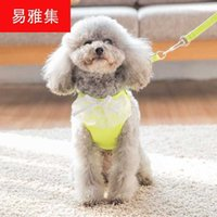 Factory Dog traction lace vest rope teddy bear chain small medium dog pet products