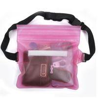 Аксессуары для бассейна Трехслойная герметичная спортивная водонепроницаемая талия сумка для плавания Draving Diving Fanny Pack Pough Androwate Rackpack Phone Pocket