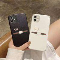 G Brand Classic Designer Phone Cases for iPhone 12 Promax 12Pro 11 XS Max XR X 8 Plus تأتي مع مربع