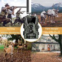 Jagdkameras HC801M 2/3 / 4G MMS / SMS / E-Mail-Kamera 20MP 1080p / 720p / VGA Nachtsichtspur Trail Trigger Wireless Surveillance Scout