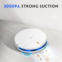 Vacuum Cleaners Uoni S2 Robot Cleaner 3000 Pa Suction Auto Charging 3 In 1 Mopping&Sweeping&Suction App Control For Home