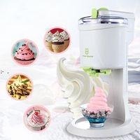 Fully Automatic Ice Cream Machine Mini Household Fruit Yogurt Sweet Tube Electric DIY Kitchen OWE9464