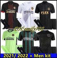 Hombres + Kit 20 21 mls Los Angeles FC Jerseys de fútbol Chicharito Lafc Galaxy Rossi Vela 2021 2022 Inter Miami CF Beckham Pizarro Camisetas de fútbol