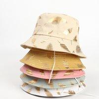 Summer Bucket Hat Fisherman cap women Men Gift wide brim Floral Universal Outdoor Travel Sun beach hats