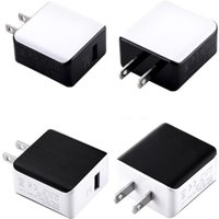 Quick Charging Eu US AC Home Wall Charger 5V 3A QC3.0 Power Adapters For iphone 7 8 X Samsung Huawei Android phone pc