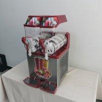 Commercial Snow Melting Machine Electric Slush Making Cold Drink Maker Smoothies Granita