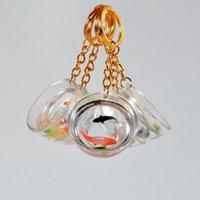 الحلي الإبداعية محظوظ كوي koi سلسلة المفاتيح مضحك خزان الأسماك ذهبية حقيبة قلادة الأزياء الحلي للأصدقاء السياحة تذكارية مجوهرات الهدايا