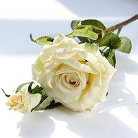 Реалистичные скрученные розовые подарки Daily Home Рождественские украшения Отель Искусственный Цветок Розы Букет Свадебные Реквизиты OWA7174