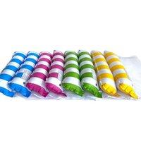 Adultos Piscina Piscina Flotadores de rayas Silla de hamaca Multi- Función Piscinas inflables Toys Agua Lounge Raft Saddle Drifte LLE7490