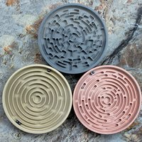 EDC Vintage Solid Brass Game Maze Puzzle 3 Ball Bearings Fun Brain Toy Challenge factory direct sales AL41