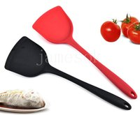Cooking Utensils Kitchen cookspoon does not stick to wok stir fry with silicone spatula Tools DD074