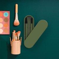 Makeup Brushes 1 Set Eyelash Brush Portable Comb Extension Cosmetic Mini Mascara Wands Brow Tool L1N2