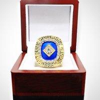 Designer de haute qualité commémoratifs Champion de Bijoux de bijoux de bijoux de haute qualité DesignerMLB1988 Haut-Luxe Los Angeles Dodge Ring m