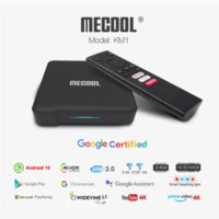 MECOOL KM1 ATV Amlogic S905X3 Android 9.0 TV BOX 4GB RAM 32GB 64GB ROM Wifi 4K HD Google Set Top