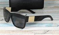 Clássico marca design óculos de sol moda luxo homens polarizados mulheres piloto vintage sunglass uv400 óculos óculos quadrados quadro polaroid lente 42-96